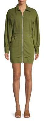 C/Meo Cmeo Collective Long-Sleeve Full-Zip Dress
