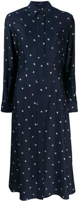 Joseph abstract print shirt dress