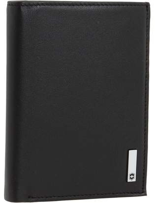 Victorinox Altiustm 3.0 - Grenoble Leather Vertical Bi-Fold Wallet With European ID Window Wallet