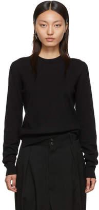Maison Margiela (メゾン マルジェラ) - Maison Margiela ブラック Updated エルボー パッチ セーター