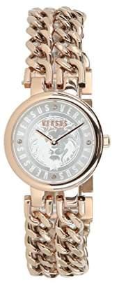 Versus By Versace Women's 'Berlin' Quartz Gold Fashion Watch(Model: VSPGR1618)