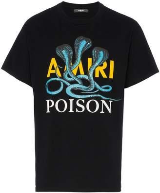 Amiri Snake Poison printed cotton t-shirt