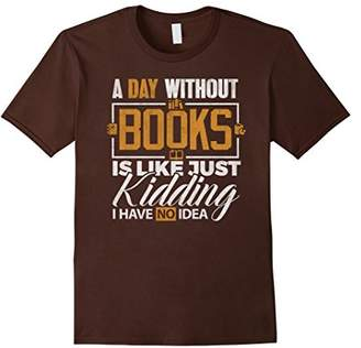 DAY Birger et Mikkelsen Reading T-shirt A without Reading Book Lovers Readers