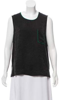 Raquel Allegra Pocket Muscle Tee Top
