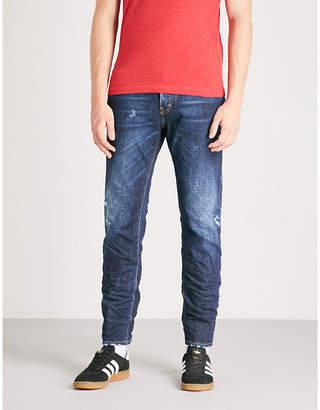 DSQUARED2 Run Dan slim-fit straight jeans
