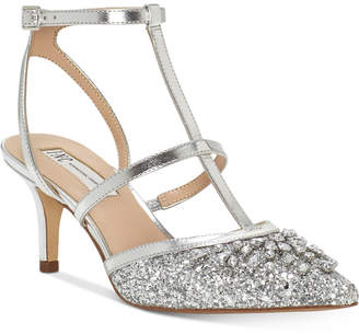 INC International Concepts I.N.C. Carma Evening Kitten Heel Pumps, Created For Macy's