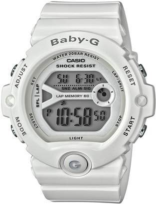 Baby-G Baby G Ladies' White Shock Resistant Watch