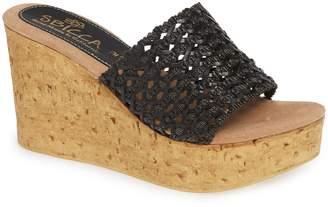 3e3cffec14 Sbicca Black Wedge Women's Sandals - ShopStyle