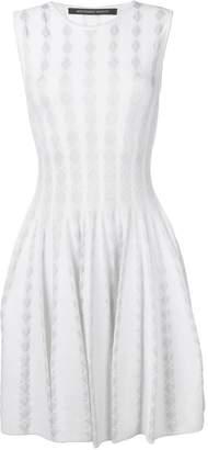 Valenti Antonino diamond-intarsia dress