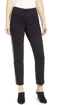 Blank NYC BLANKNYC High Waist Side Stripe Ankle Skinny Jeans