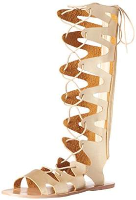 LFL by Lust for Life Women's L -Wicked Gladiator Sandal