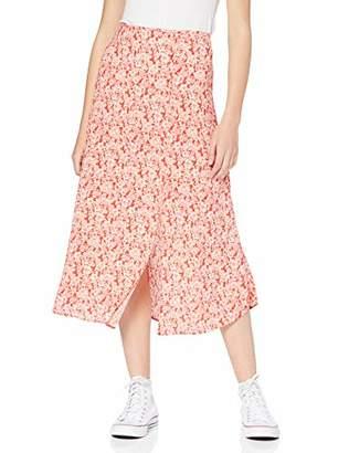 317665059dc62f New Look Women's Connie Floral Split Skirt,8 (Manufacturer ...
