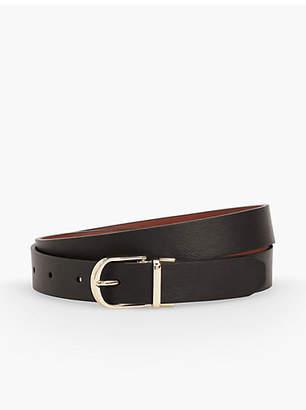 Talbots Leather Reversible Belt - Colors