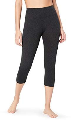 "Core 10 Women's Plus Size Spectrum Yoga High Waist Capri Legging - 21"""