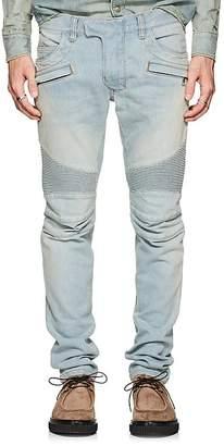 Balmain Men's Skinny Biker Jeans