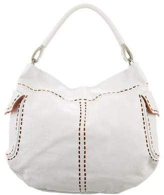 Pre-Owned at TheRealReal · Prada Perforated Leather Hobo 9ddee6a57df27