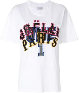 Gaelle Bonheur printed logo T-shirt