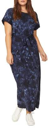 Sanctuary Curve Isle Tie-Dye Belted Maxi Dress