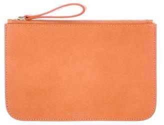 Mansur Gavriel Leather Zip Pouch