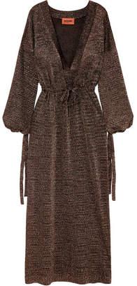 Missoni Lurex Maxi Dress - Bronze