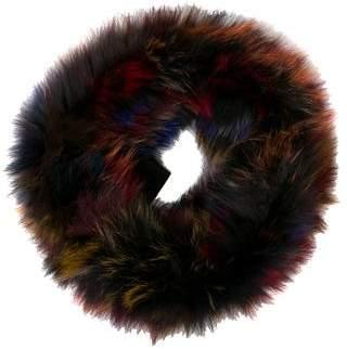 Adrienne Landau Fox Fur Infinity Scarf w/ Tags