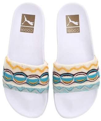 Puma Select Coogi Knit & Rubber Slide Sandals