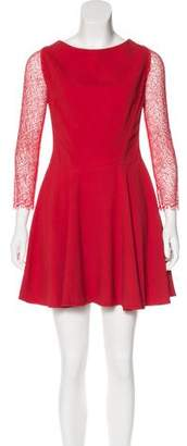 Antonio Berardi Flared Mini Dress