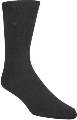 Cole Haan Men's Ribbed Crew Socks