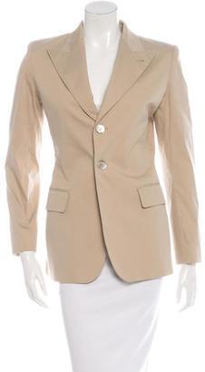 Jean Paul Gaultier Beige Cutout Blazer $85 thestylecure.com