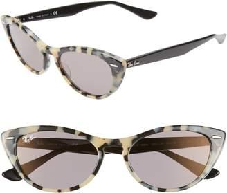 Ray-Ban Nina 54mm Cat Eye Sunglasses