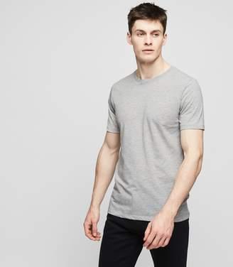 Reiss BLESS MARL Crew neck T-shirt Grey Marl