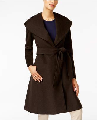 Jones New York Asymmetrical Shawl-Collar Coat $380 thestylecure.com