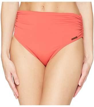 Vince Camuto Riviera Solids Convertible High-Waist Bikini Bottom Women's Swimwear
