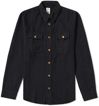 Visvim Black Elk Flannel Shirt