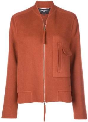 Rochas oversized zip-up jacket