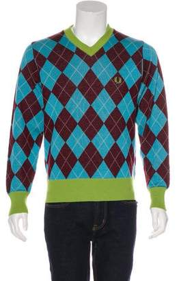 Fred Perry Wool V-Neck Sweater