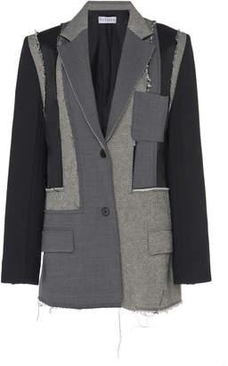 J.W.Anderson Patchwork Wool Blazer Size: 6