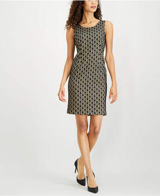 Kasper Lace Sheath Dress