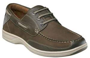 Florsheim Lakeside Leather Oxford Boat Shoes