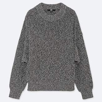 Uniqlo Women's Color Mixed Dolman Sleeve Sweater