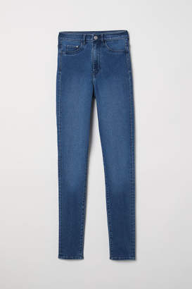 H&M Super Skinny High Jeggings - Blue