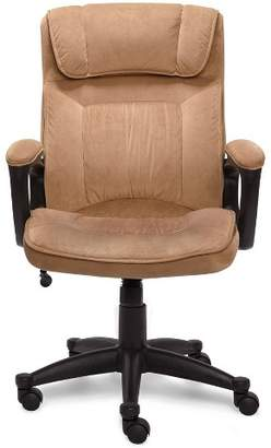 Serta Executive Chair Velvet Microfiber
