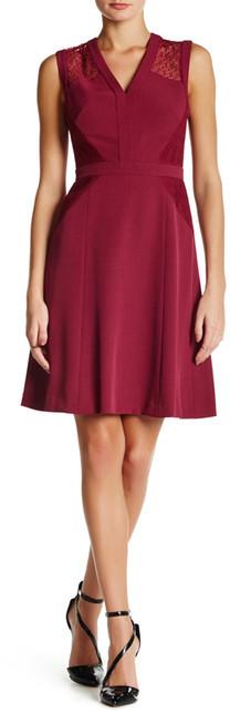 Anne KleinAnne Klein Delicate Lace A-Line Dress