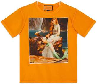 Gucci Oversize T-shirt with Bugs Bunny