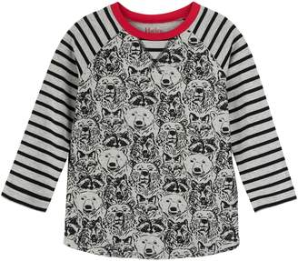 Hatley Print Raglan Sleeve Shirt