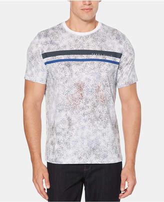 Perry Ellis Men Splatter T-Shirt