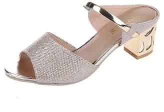 Bohemia Baynne Women Heeled Sandals High Heels 5.5CM Open Toe Mid Heel Sandals Bridal Party Shoes