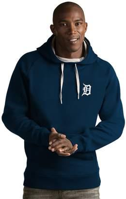 Antigua Men's Detroit Tigers Victory Pullover Hoodie