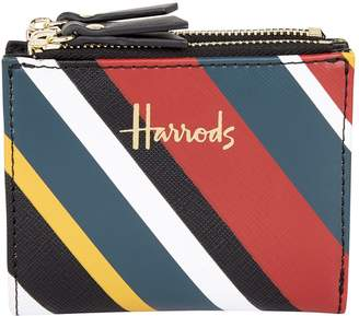 Harrods Niki Striped Wallet