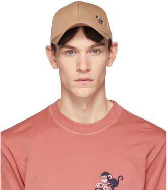 Paul Smith Beige Zebra Baseball Cap